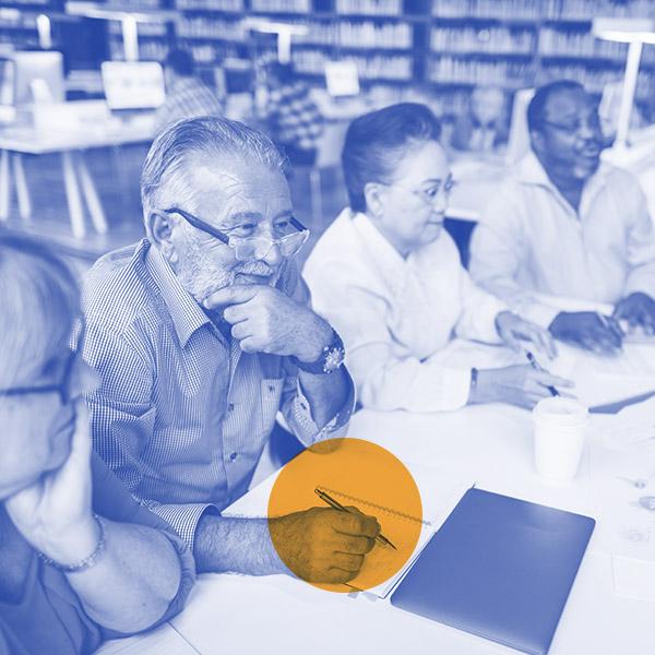 Meeting Sharing Brainstorming Analysis Opinion