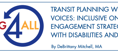 Transit Planning with Virtual Voices: Inclusive Online Civic Engagement Strategies for People with Disabilities and Older Adults